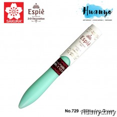 Sakura Espie 3D Decoration Marker Pen No.729-Glittering Green