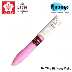 Sakura Espie 3D Decoration Marker Pen No.720-Glittering Pink