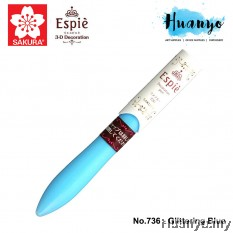 Sakura Espie 3D Decoration Marker Pen No.736-Glittering Blue
