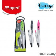 Maped Study Geometry Metal Compass with Mechanical Pencil