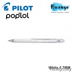Pilot Pop'lol Gel Pen 0.7MM - White