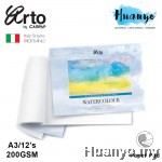 Campap Arto Watercolour Painting Pad  A3 - 200gsm (25% Cotton, Cold Pressed)