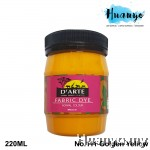 D'Arte Fabric Paint (Golden Yellow)