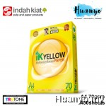 IK Yellow A4 White Paper 70gsm 450 Sheets/Ream