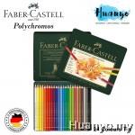 Faber-Castell Polychromos Artist Colour Pencil Tin (Colours of 24)
