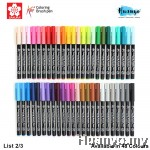 Sakura Koi Coloring Brush Pen (Available in 48 Colours) List 2/3
