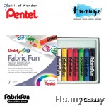 Pentel Fabric Fun Pastel Dye Sticks (Colours of 7)