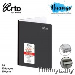 Campap Arto Hard Cover A4 Sketch Book 110gsm/120 pages