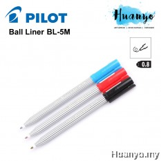 Pilot Ball Liner Sign Pen BL-5M 0.8MM - Black / Blue