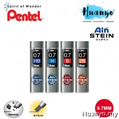 Pentel Ain Stein Mechanical Pencil Lead 0.7mm x 60MM (Tube of 40pcs)