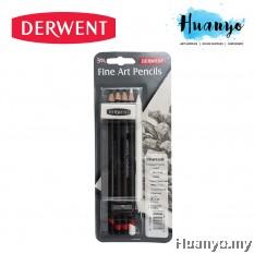 Derwent Fine Art Pencils (Set of 9)