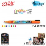 Gsoft Popart Fluorescent Chalk Marker 1MM Bullet Point (FL-GS-100S)