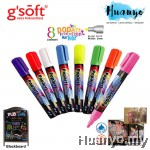 GSoft Popart Flourescent Chalk Marker 2MM Bullet Point (FL-GS-100B)