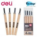 Deli Carving Wood Knives Tools (Set of 4)
