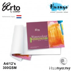 Campap Netherlands Arto Watercolour Painting Pad  A4 - 300gsm (100% Cotton, Cold Pressed,Medium Surface)
