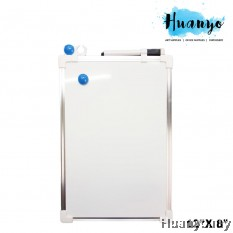 Double Sided Portable Magnetic White Board (30 x 20 CM / 12'' X 8'')