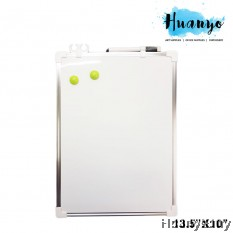 Double Sided Portable Magnetic White Board (13.5'' X 10'' / 34 x 25CM)