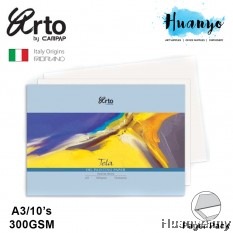 Campap Arto Tela Oil Painting Canvas Grain Paper A3 300gsm/10's