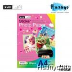 KAMI A4 Glossy Sticker Photo Paper 150gsm/12's