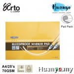 Campap Arto Bleedproof Marker Pad A4 (70gsm/25's)