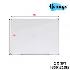 Non-Magnetic White Board 2' X 3'