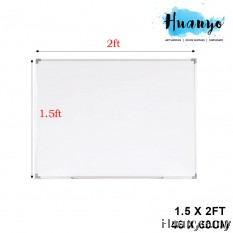 Non Magnetic White Board 1.5' X 2'