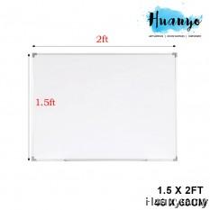 Non-Magnetic White Board 1.5' X 2'