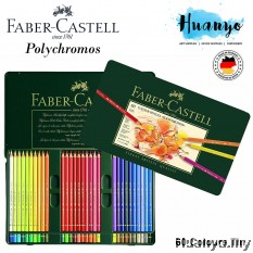 Faber-Castell Polychromos Artist Colour Pencil Tin (Colours of 60)