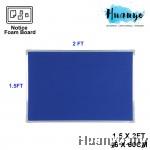Aluminium Frame Notice Foam Board (1.5' X 2')