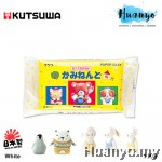 Kutsuwa Japanese Paper Clay / Modeling Clay - White (1 kg)