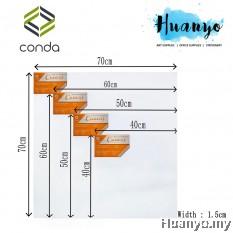Conda Artist Stretched Canvas (Square Size: 30/40/50/60/70cm²)