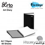 Campap Arto Wire O Art Diary/Sketch Book A4 110gsm/60 sheets