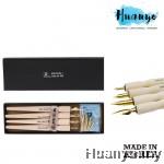 Memory 568 Series Dip Pen Wood Comics Pen 4 Holder 8 Nib Set Fountain Pen