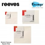 Reeves Artist Stretch Canvas Square Size (15/20/25 cm²)