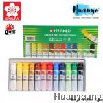 Sakura Mat Water Colours (Set of 12)