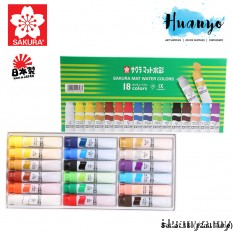 Sakura Mat Water Colours (Set of 18)