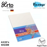 CAMPAP Arto A3 Tracing Paper 60gsm  - 20 Sheet/Pack