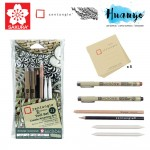Sakura Zentangle Renaissance Tile Tool Set (Set of 11)