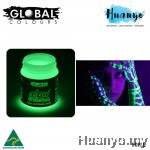 Global Colours Glow in the Dark Body and Face Paint (45ML)