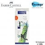 Faber-Castell Oil Colours Paint Starter Kit Set (Colours of 12)