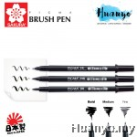 Sakura Professional Pigma Brush Pen Fine/Medium/Bold (Per Pcs)