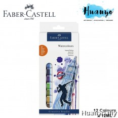 Faber-Castell Water Colours Paint Starter Kit Set (Colours of 12)