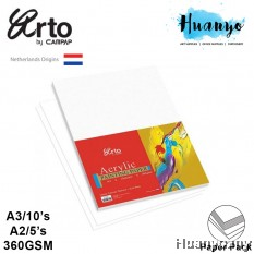 Campap Arto Acrylic Painting Paper Pack 360gsm (A3 / A2)