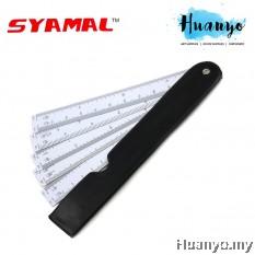 Syamal Teknik Fan Style Scale Ruler