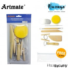 Artmate Pottery Tools (Set of 8)