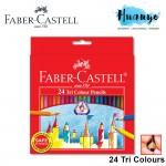 Faber-Castell Tri Colour Pencils 24