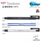 Tombow MONO Zero Retractable Elastomer Eraser Pen (Flat Tip)