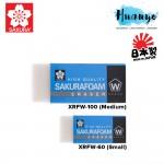 Sakura Foam Art Eraser XRFW-60(Small) / XRFW-100 (Medium)