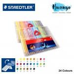 Staedtler Luna Water Colour Color Pencil - 24 Colour (Slim Plastic Case Set)
