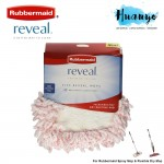 Rubbermaid Reveal Flexible Microfiber Dusting Pad For Dry and Spray Mop (Refill)